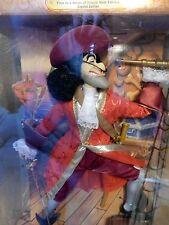 Disney Mattel Peter Pan CAPTAIN HOOK 1st Limited Edition villain 1999 NRFB