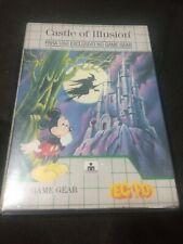 Castle of Illusion Game Gear Tectoy CIB (Brazilian Version) Complete!