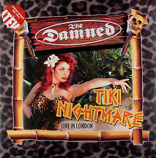 The Damned TIKI NIGHTMARE: LIVE IN LONDON Limited Edt NEW Red Colored Vinyl 2 LP