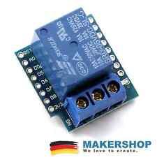 Mini Relais Shield Erweiterung Zubehör für Wemos D1 Arduino NodeMCU Relay