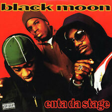 "BLACK MOON "" ENTA DA STAGE "" SEALED U.S. LP RAP HIP HOP"
