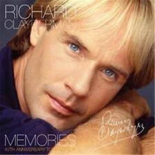 RICHARD CLAYDERMAN MEMORIES 40th Anniversary Tour Edition 2 CD NEW