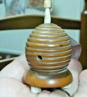 Antique Bee Hive Sewing Tape Measure
