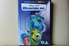 Monsters Inc Disney DVD EXC Royal Mail 1st Class FAST & FREE