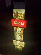 "Vintage Coors Waterfall Electric Light Signs Large 30"" rare original neon Read"