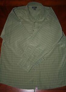 2XL TALL BRUNO striped Dress Shirt Polyester