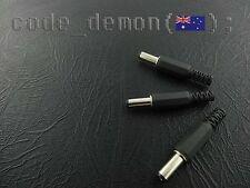 DC Power Male Plug Jack 2.1mm x 5.5mm (x3) - Arduino / AVR / PIC