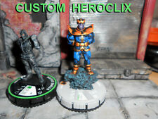 CUSTOM Heroclix THANOS Galactic Guardians #049 + Stone Golem Bystandard Figures