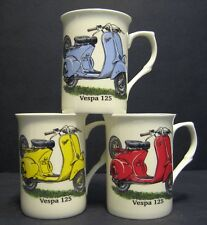 VESPA 125 Scooter Fine Bone China Mug Cup Beaker