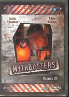 Mythbusters Volume 21 DVD Jamie Hyneman Adam Savage Region 4 PAL