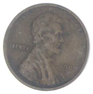 XF+ 1909 Lincoln Wheat Cent - 1st Year Issue - Great Condition *950