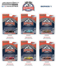 GREENLIGHT FORD GT RACING HERITAGE SERIES 1, SET OF 6 CARS 1/64 DIECAST 13200