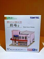 TOMYTEC 1/150 MAIN STREET CINEMA 038-2, MODERN TOWN SERIES, NEW