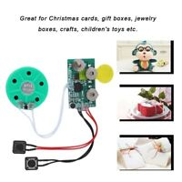 4Mins DIY Greeting Card Audio Module Voice Sound Music Recordable Chip Box Gift