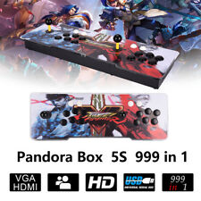 New 999in1 Pandora Box 5s Retro Video Games Double Stick Arcade Console Light QY