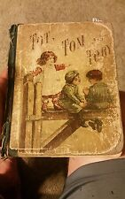 Tot Tom and Toby 1891 Vintage Book Classic Childrens stories