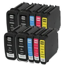 10 NON-OEM 940XL INK CARTRIDGE for HP OFFICEJET PRO 8000 8500 8500A HP940