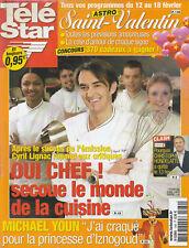 Tele Star N° 1480 Du 07/02/2005 - JACQUES VILLERET - C. LIGNAC - COURTNEY THORNE