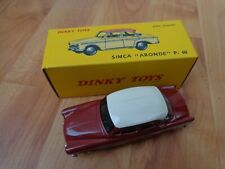 DINKY TOYS 544 SIMCA ARONDE P60 CAR - NEW BOXED - ATLAS EDITIONS