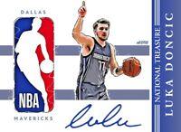 Luka Doncic All Eras Sports Custom National Treasures Card Remix