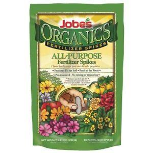 Jobe's Organic All-Purpose Fertilizer Spikes