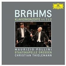 Brahms / Pollini / T - Piano Concertos Nos 1 & 2 [New CD]