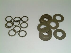 M11 Steel Washers 10mm I/D to 11mm I/D-Choose from 2 different sizes