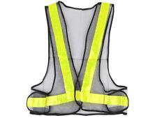 Universal Hi Viz Reflective Waistcoat Construction Safety Vest Jacket Yellow