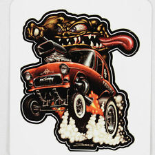 Zombie Hot Rod Wear 55 Chevy Monster Custom Muscle Car Aufkleber Sticker Decal
