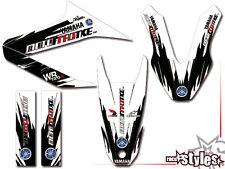 Yamaha wr 125 R/125 x full Factory Racing decoración decal pegatinas kit 2009-2015