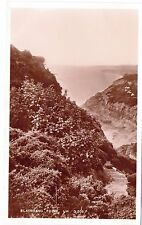 Real Photo Vintage Postcard Black Gang Chine Isle of Wight IOW