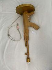 Pre-owned Creative AK47 Gun Table Lamp, Golden