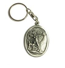 Roman Goddess Diana Keyring (Keychain), Fine English Pewter.