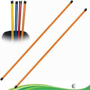 Golf Alignment Sticks Speed Practice Training Aid Portable Roads Swing Colors UK