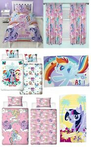 My Little Pony Bedroom Accessories - Duvet Cover Blanket Towel Curtains Kids