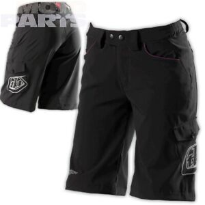 Womens shorts TroyLeeDesigns, black, size S-XL