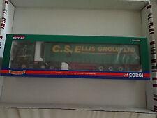 Corgi 1:50 CC13703 Scania R Series Curtainside C S Ellis Decert Untouched
