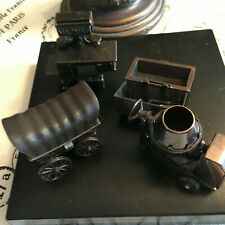 Miniature Pencil Sharpeners Covered Wagon Stove Cement Mixer