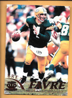 1996 Pacific Gridiron #45 Brett Favre Green Bay Packers Football Card Red
