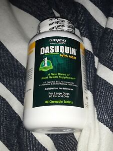 Dasuquin with MSM for Large Dogs (84 Chewable Tablets) 11/2022 NEW