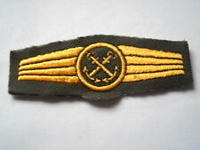 German Navy / Navy - Abz. for Staff in general Naval service - olive / gold