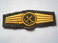Marine allemande / - Abz. pour Personal dans allg. Service de la - olive / or