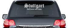 Stuttgart You 'll never walk alone Autocollant 60 cm