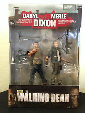 Walking Dead TV Merle and Daryl Dixon Action Figure 2-Pack *LAST ONE*