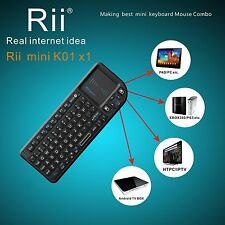 Portable Rii X1 2.4G Mini Wireless Keyboard for Kodi Raspberry PI 2 3  Xbox 360