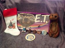 E.T. Doll, Stocking, Pins, Figures & Play Dish