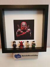 Deadpool X-MEN Marvel Lego 3D Figurine Cadre X-Force Domino Câble Peter