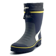 Mens Wader Hunting Fishing Non-Slip Wellington Wellies Rain Rubber Long Boots