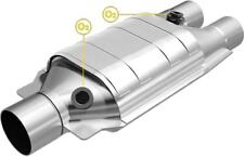 "MagnaFlow SS HEAVY METAL 2""/2.5""IN/OUT CATALYTIC CONVERTER FOR UNIVERSAL#99067HM"