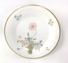 X2 Royal Doulton Flirtation Bone China Side Plates Blue Yellow Pink White